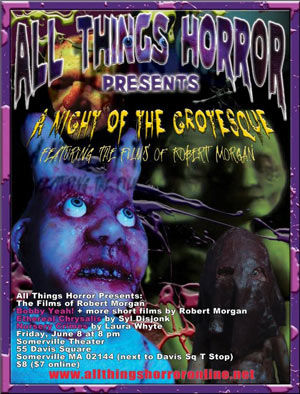 All Things Horror Present - A night of the Grotesque - Robert Morgan