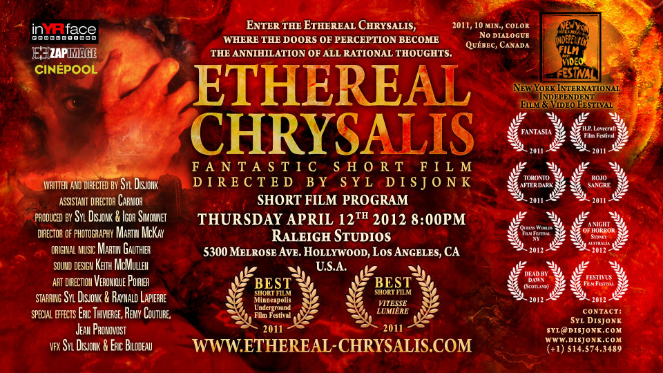 Ethereal Chrysalis - Twisted Short Stack Queens World Film Festival