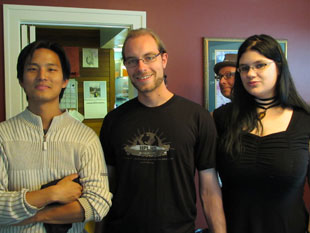 Huan Vu, Jan Roth, Nick the Hat and Jenna M. Pitman