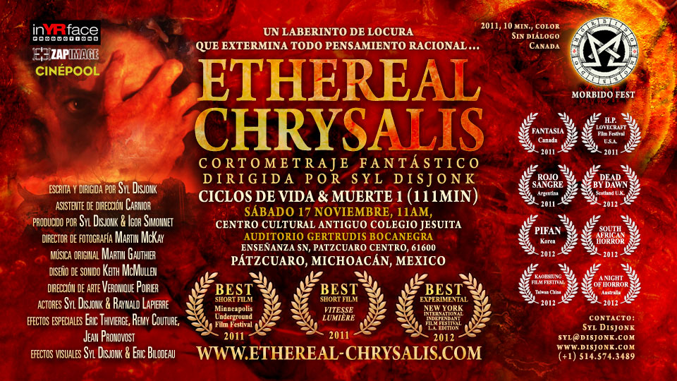 Ethereal Chrysalis at Morbido fest, Patzcuaro, Michoacan