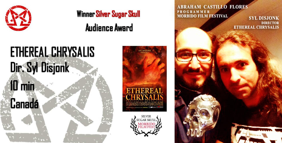 Silver Sugar Skull Audience Award - Morbido film festival 2012