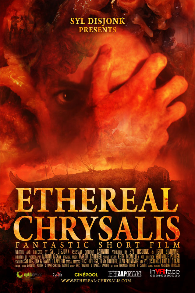 Ethereal Chrysalis - Fantastic short film poster